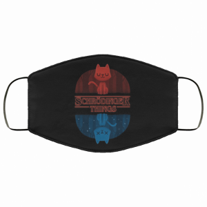 Schrodinger Things Face Mask