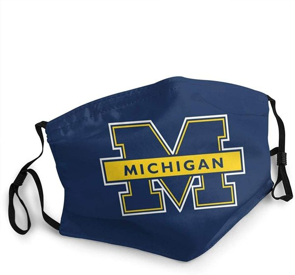 Michigan Wolverines Face Mask