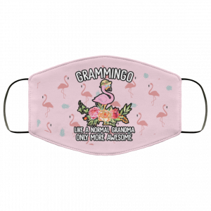 Grammingo like a normal grandma only more awesome face mask