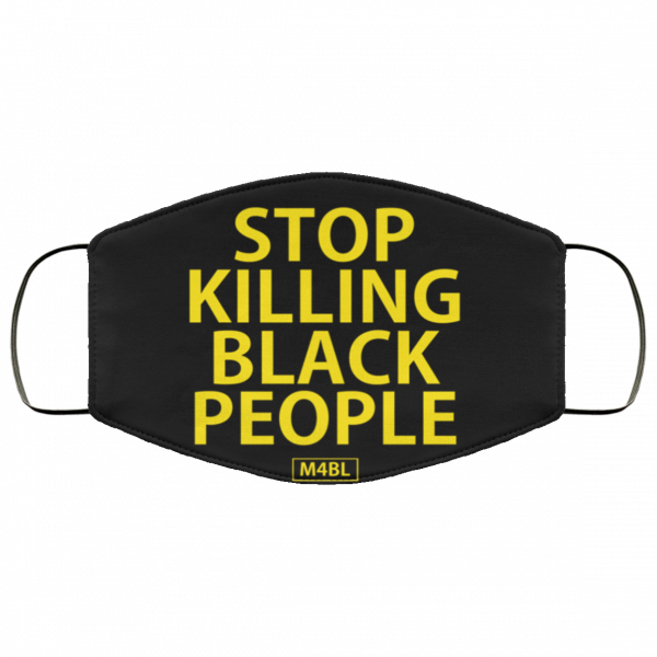 stop-killing-black-people-3-layer-face-mask-washable
