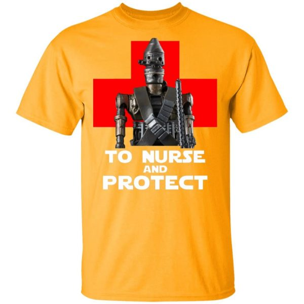 Star Wars The Black Series Battle Droid To Nurse And Protect shirt