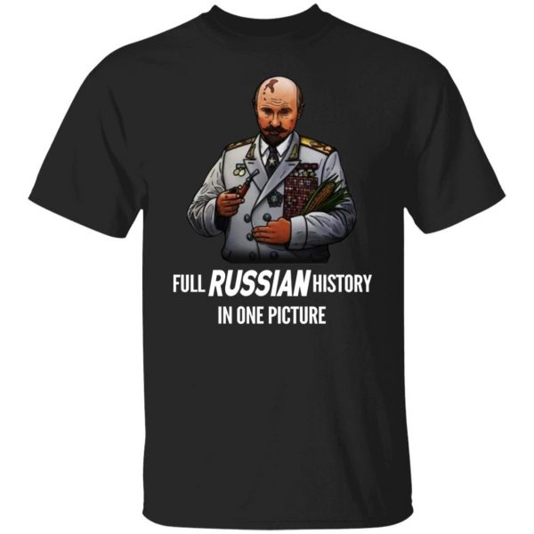 Full Russian History In One Picture shirt