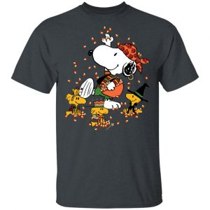 Snoopys Treat Halloween With Snoopy And Woodstocks shirt