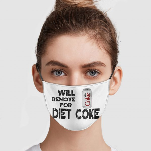 Will Remove For Diet Coke Face Mask