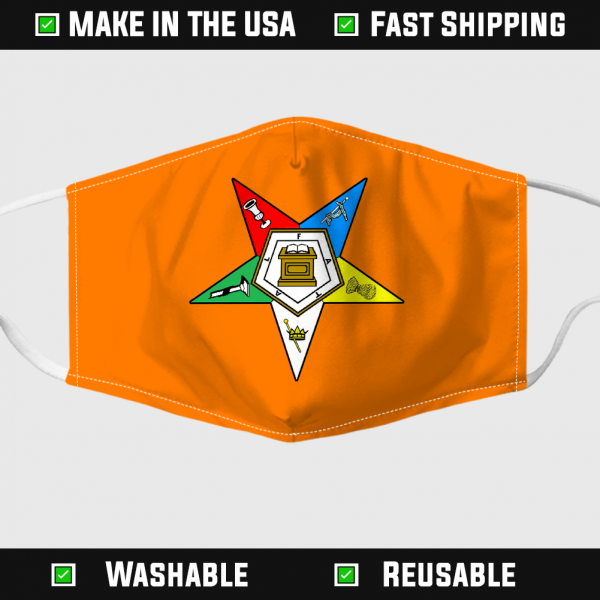 Order of the Eastern Star Face Mask