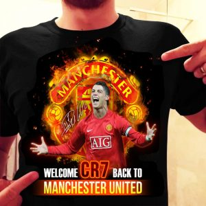 Welcome CR7 Back To Manchester United 2021 Shirt