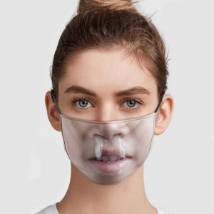 Funny Face Gross Snot Nose Kid Face Mask