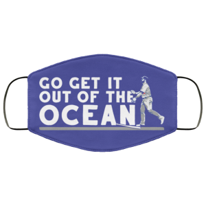 Max Muncy Go Get It Out Of The Ocean Face Mask