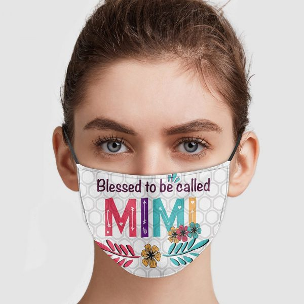Blessed To Be Called Mimi Face Mask