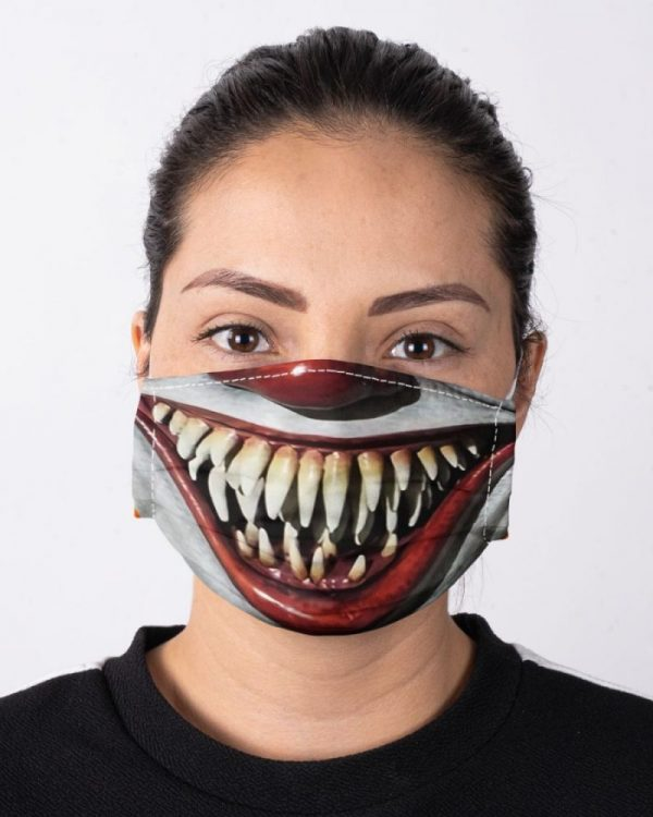 Horror Movie Characters IT Face Mask