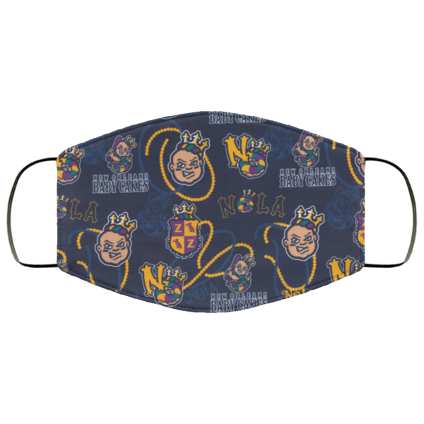 New Orleans Baby Cakes Face Mask