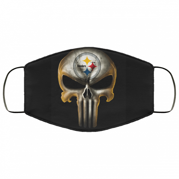 Pittsburgh Steelers The Punisher Mashup Face Mask