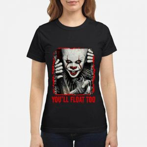 Pennywise you'll float too Halloween ladies