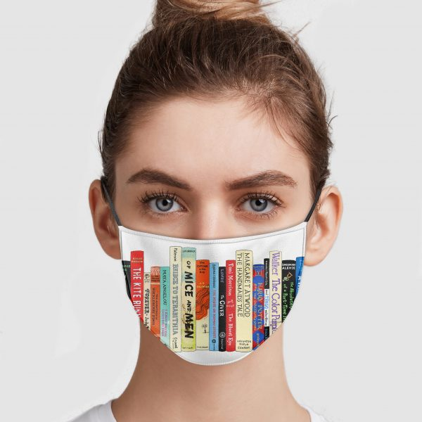 Banned Books Face Mask