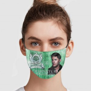 Supernatural Join The Hunt – Saving People Hunting Things Face Mask