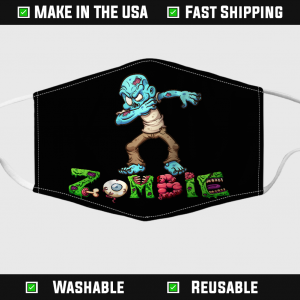 Dabbing Zombie Mask Halloween Funny Zombies Face Mask