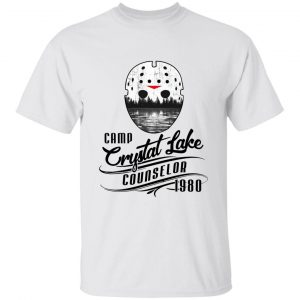 Friday The 13Th Jason Voorhees Camp Crystal Lake Counselor Halloween Shirt
