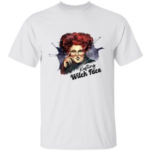 Hocus Pocus Winifred Sanderson Resting Witch Face Halloween