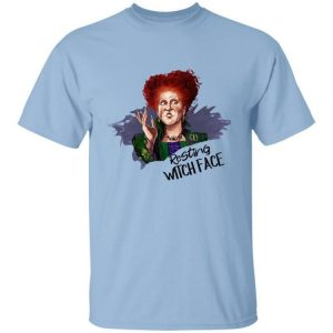 Hocus Pocus Winifred Sanderson Resting Witch Face Halloween Shirt
