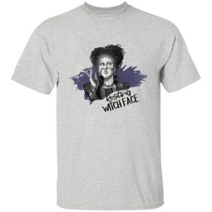 Halloween Hocus Pocus Winifred Sanderson Resting Witch Face Shirt