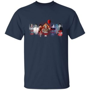Horror Movies Character Quotes Halloween Shirt