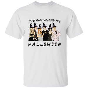 Friends The One Where It's Halloween Shirt