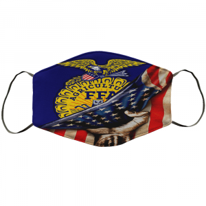 Agricultural Education Ffa American Flag Face Mask