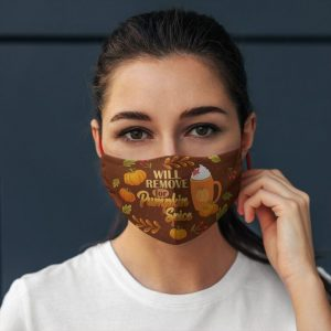 Will Only Remove For Pumpkin Spice Face Mask