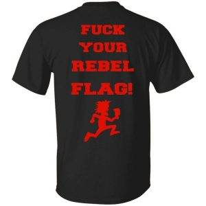 ICP Fuck Your Rebel Flag Red Version Shirt